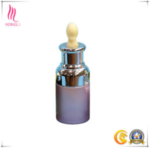 Cylinder Cosmetic Glass Bottle with Childproof Dropper pictures & photos