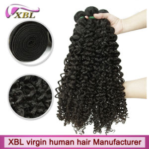 Experienced Human Hair Supplier Peruvian Curly Virgin Hair Weave pictures & photos