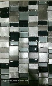 Special Mix Glass Mosaic with Metal Jy37k pictures & photos