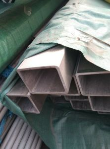 China Manufacturer Rectangualr Seamless Stainless Steel Pipe pictures & photos