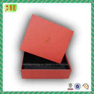 Goil Foil Logo Cardboard Gift Box for Shoe Packing pictures & photos