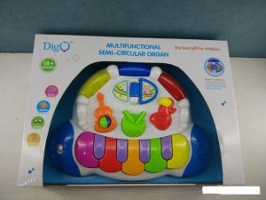 Kids Plastic Educational Multifunctional Semi-Circular Organ Baby Toy pictures & photos