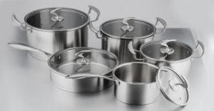 High Quality Stainless Steel Best Cookware Set pictures & photos
