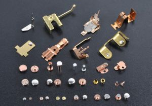 Stamping Part Spring Terminal Welding and Riveting pictures & photos
