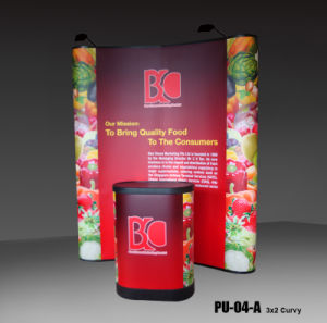 6FT Pop up Display Banner Stand for Trade Show (PU-04-A) pictures & photos