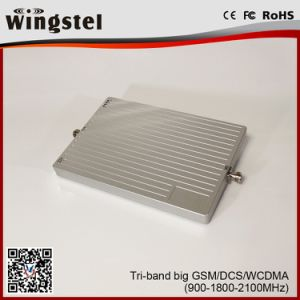 New Fantastic Design 900/1800/2100 MHz Tri Band Repeater for Home pictures & photos