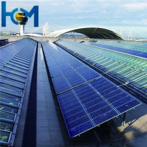 3.2mm Solar Panel Use Anti-Reflective Tempered Low Iron Glass with SPF, SGS, ISO pictures & photos