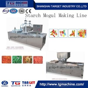 Stainless Steel Sever Driven Motor Jelly Candy Soft Candy Making Line pictures & photos