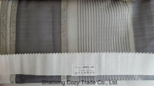 New Popular Project Stripe Organza Sheer Curtain Fabric 008210 pictures & photos
