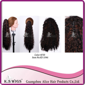 Kanekalon Synthetic Hair Ponytail Hair Extension pictures & photos