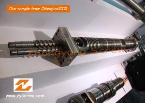 Parallel Twin Screw Barrel Double Screw Barrel PVC Pelletizing Screw Barrel pictures & photos