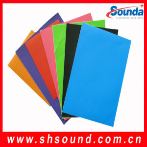 Glossy Color Self Adhesive Vinyl Film (SAV140-A) pictures & photos