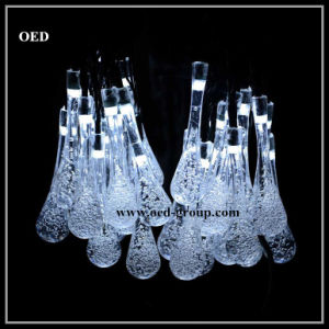 LED Christmas Holiday Party Wedding Outdoor Indoor Battery Solar Bubble Water Droplets Shape Fairy String Light pictures & photos
