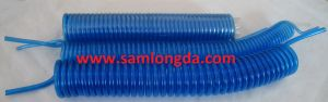 Clear Blue PU Tube / PU Coil Tube / PU Spiral Hose pictures & photos