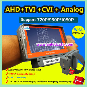 Wristband Ahd/Tvi/Cvi/Analogue CCTV Test Monitor with 5 Inch TFT LCD pictures & photos
