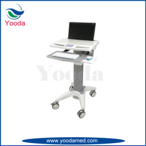 Laptop Cabinet Mobile Computer Medication Workstation pictures & photos