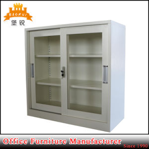 Steel Small Sliding Door Metal Filing Cabinet pictures & photos