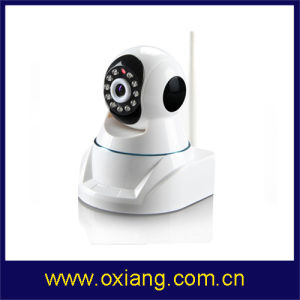 Onvif Indoor WiFi Wireless 3G IP P2p Camera (OX-6205Y-WRA) pictures & photos