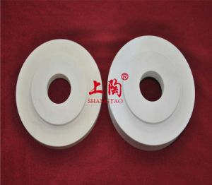 Alumina Ceramic Raised Plate with Ceter Hole pictures & photos