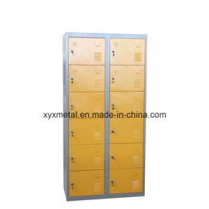 Steel Locker Cabinet 12 Doors Wholesale Philippine, 12 Door Steel Locker Supply pictures & photos