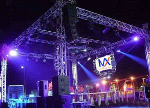Outdoor Truss Trade Show Aluminum Stage Lighting Tower pictures & photos