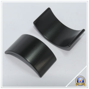 Arc Black NdFeB Magnets, Tile Permanent Material pictures & photos