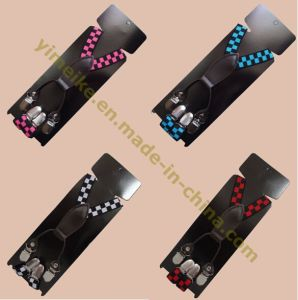 New Fashion Checkered Suspenders for Kids pictures & photos