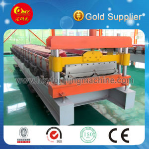 Locking Roof Sheet Roll Forming Machine Line pictures & photos