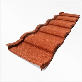 Stone Coated Metal Roof Tile-Roman Tile pictures & photos
