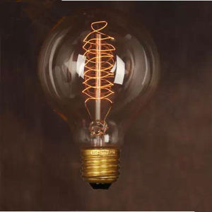 Vintage Luxury Appearance G95 Spiral Antique Light Bulbs/LED Bulbs Edison Bulb G95 (MC-QP-1025)