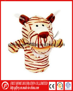 Cute Plush Tiger Hand Puppet for Kids Education pictures & photos