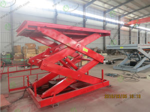 Heavy Duty Hydraulic Scissor Lift Table for Sale pictures & photos