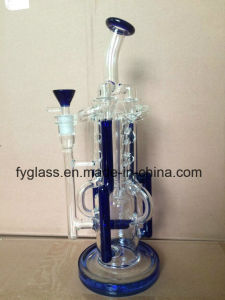 Glass Smoking Pipe with Water Recycler -High Quality Wholesale pictures & photos