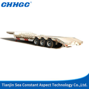 Lowbed Semi Trailer 4 pictures & photos