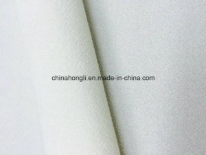 75D T/Sp 95/5 High Twist Crepe Ity Single Jersey Knitting Fabric for Women Garment pictures & photos