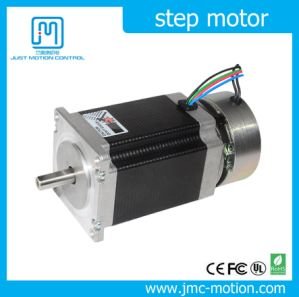 2phase NEMA 23 Stepper Motor with Brake pictures & photos