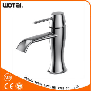 Wotai Chrom Finished Single Lever Basin Faucet pictures & photos