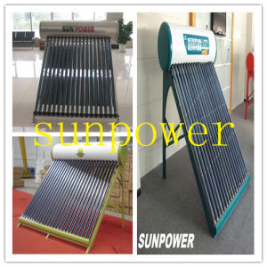 Non Pressure Solar Water Heater (SPR470-58/1800-20) pictures & photos