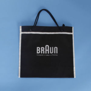 Custom Printed String Handle Bag for Packing (FLS-8236) pictures & photos