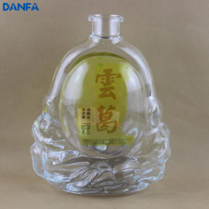 750ml Custom Printed Spirits Bottle pictures & photos