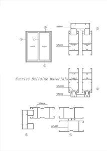 Aluminum Door (Profiles for Sliding/Casement Frame) pictures & photos