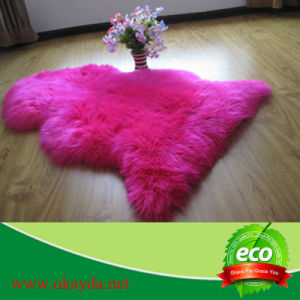 100% Real Australian Sheepskin Rug Good Density From China Factory