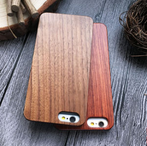 Carbonized Wood/ Pecans Wood Made Artwork for iPhone 5 6 Wood Phone Case pictures & photos