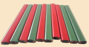Carpenter Pencil Red/Green Body Plastic Pencil