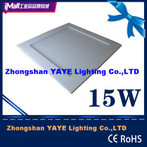 Yaye Competitive Price 15W Square LED Panel Light / SMD2835 LED Panel Light pictures & photos
