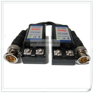 1 Channel Passive HD Tvi Cvi Ahd Cvbs Cat5 Cable Twisted Pair UTP Video Balun pictures & photos