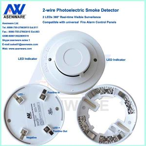 OEM ODM Conventional Fire Alarm Smoke Sensor Smoke Detector pictures & photos