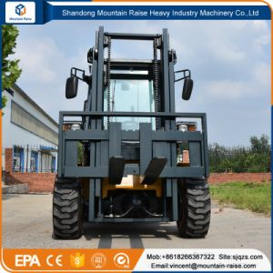 3m - 5m 3.5ton off Road Forklift pictures & photos