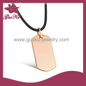 Lastest Design Pendant Necklace Gift (2015 Gus-Tupn-005) pictures & photos