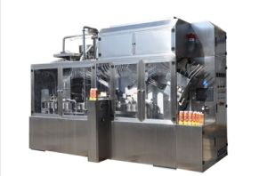 Tropical Fruits Gable Top Carton Packing Machine pictures & photos